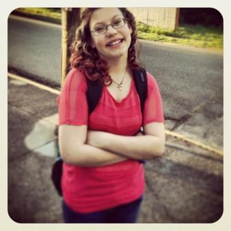 MY DAUGHTER--THE SCHOOL BUS STOP PHILOSOPHER
