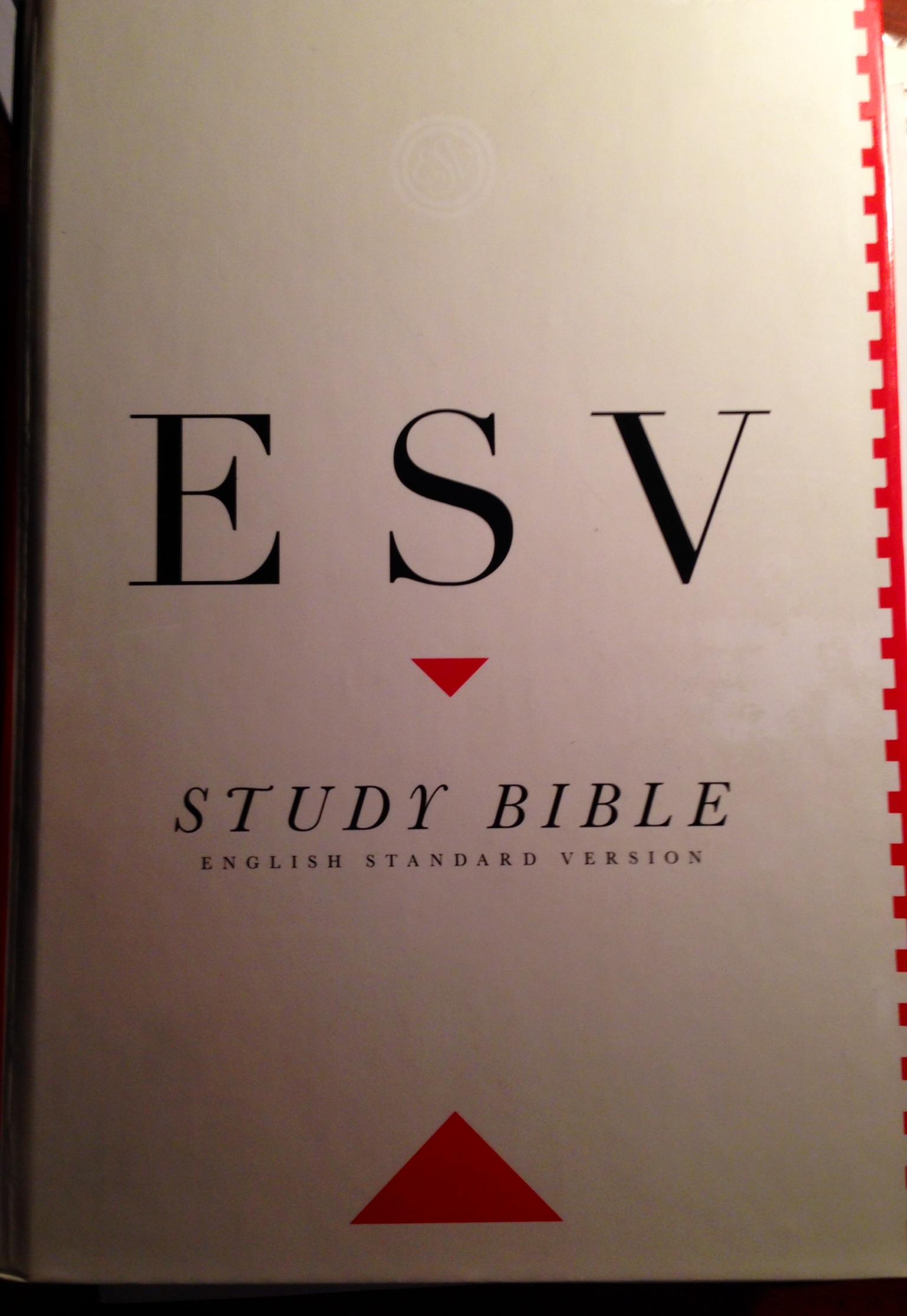 ESV – Pastor Greenbean