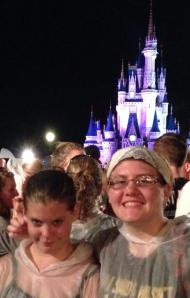 The Sprouts in their 'souvenir' ponchos at Disney World.