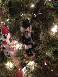Nutcracker on Christmas Tree