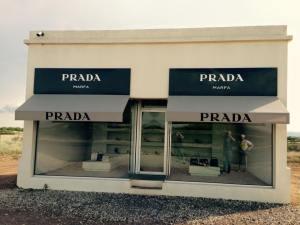 The Devil wears Prada, in Marfa