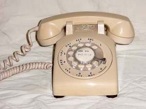 Our 'party-line' phone looked just like this